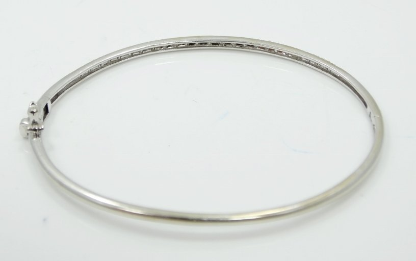 14K Bracelet W/0.50ctw Pave-Set Diamonds - 3