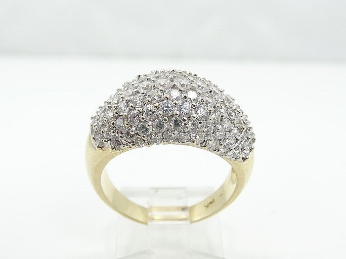 2.50ctw VS2-SI1/G-H Diamond & 14K Ring - 2