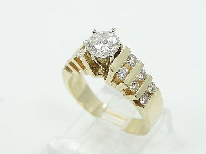 1.35ctw VS2-SI1/G Diamond & 14K Ring (3/4 Center)