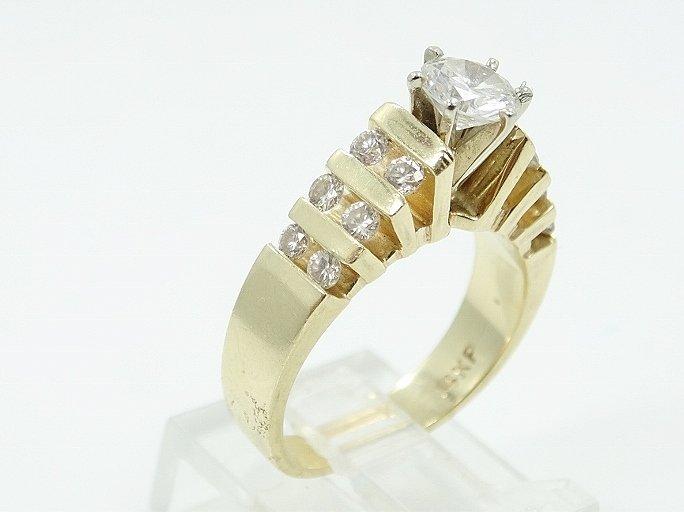 1.35ctw VS2-SI1/G Diamond & 14K Ring (3/4 Center) - 4