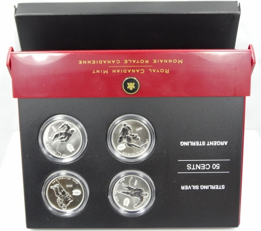 2005 Royal Canadian Mint Sterling Silver Coin Set