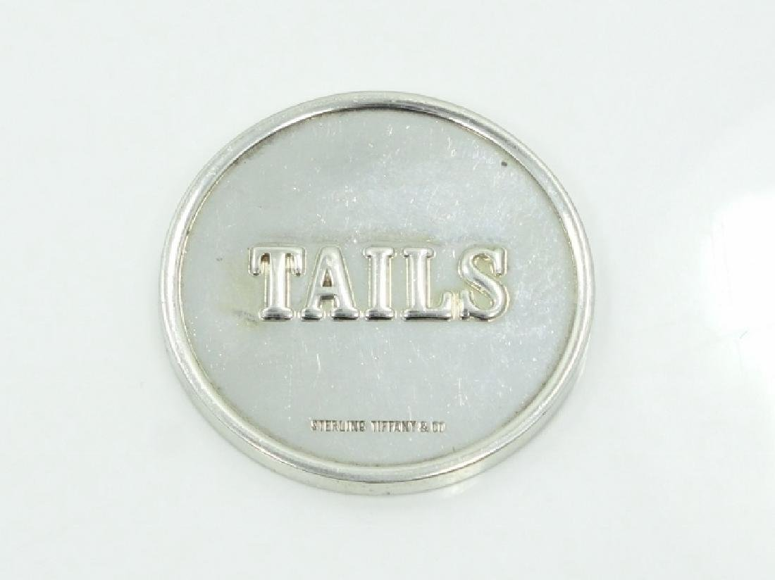 Tiffany & Co. 925 Silver Heads/Tails Coin *Rare*