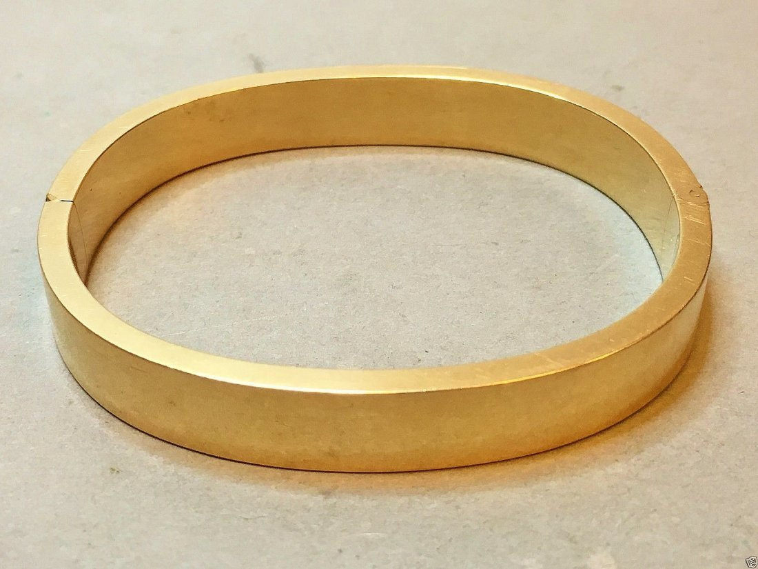 Karl Faberge 1885 (Moscow) 56 Gold Bangle(Only 1)