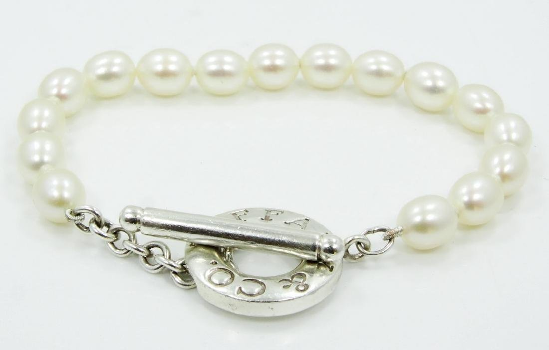 Tiffany & Co. Freshwater Pearl Toggle Bracelet - 3