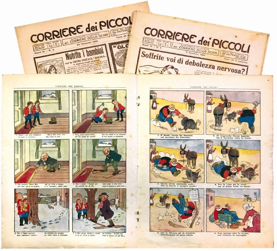 Corriere dei Piccoli Anno II 1910