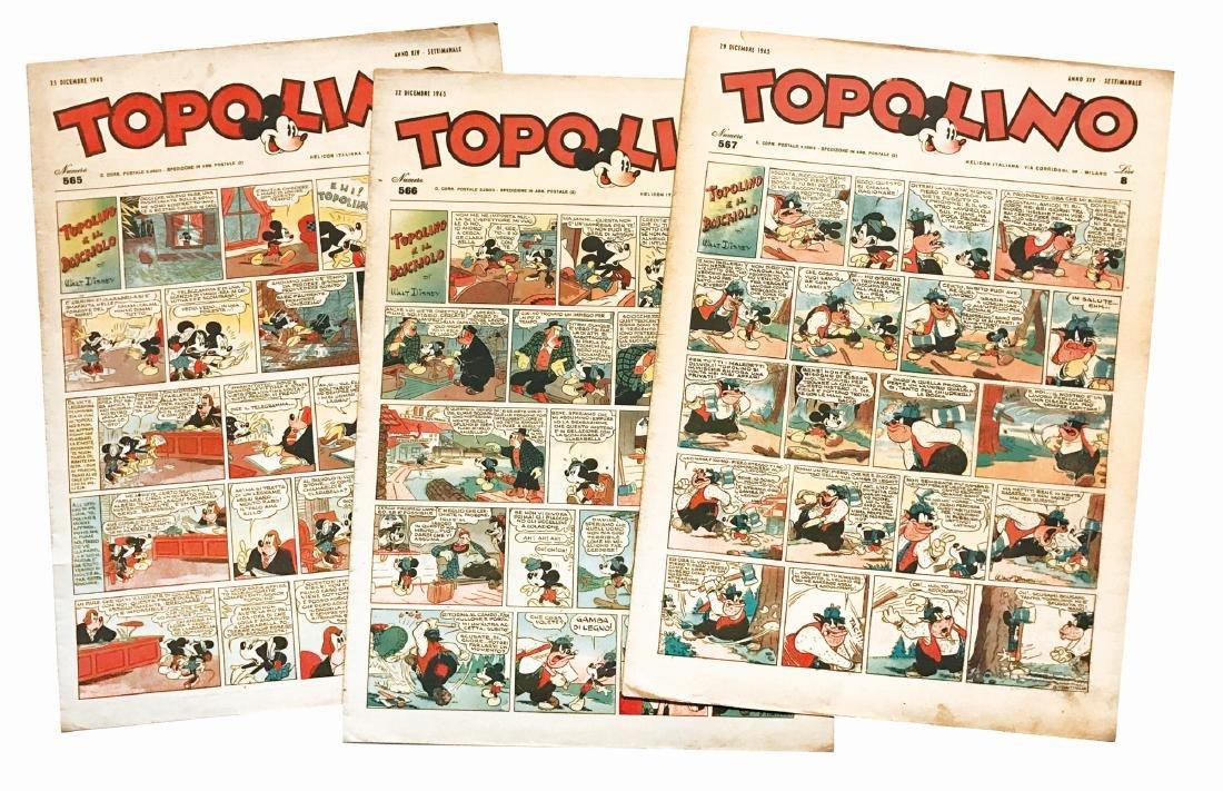 Topolino Giornale dopoguerra