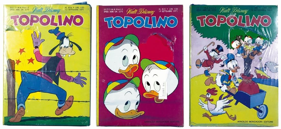Topolino Libretto nn. 824, 825, 886