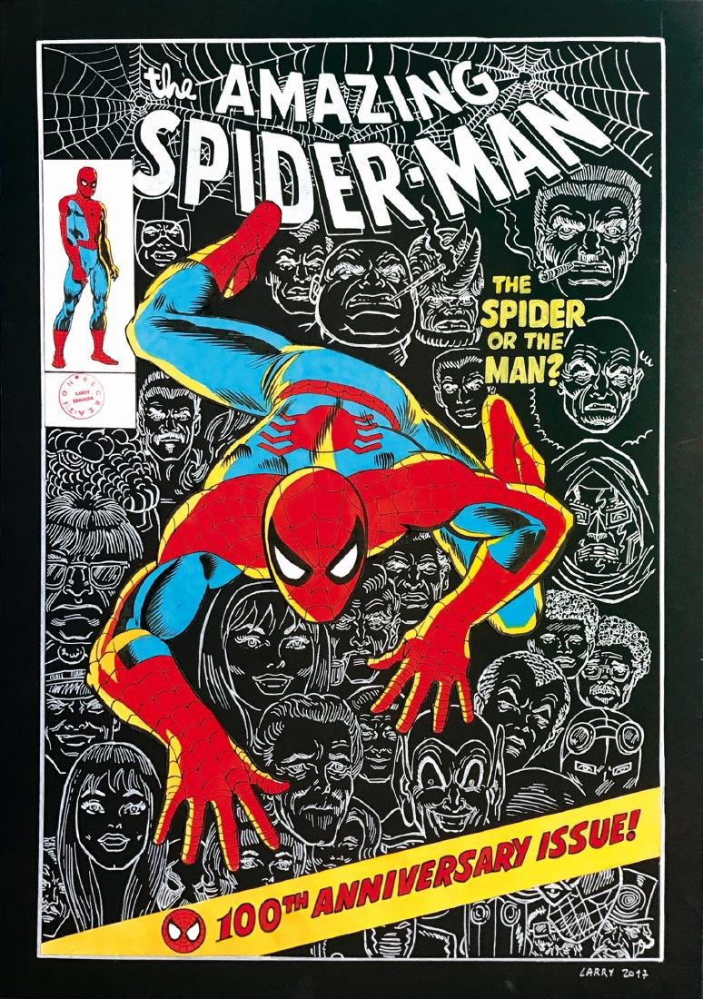 Larry Camarda The Amazing Spiderman 100th anniversary