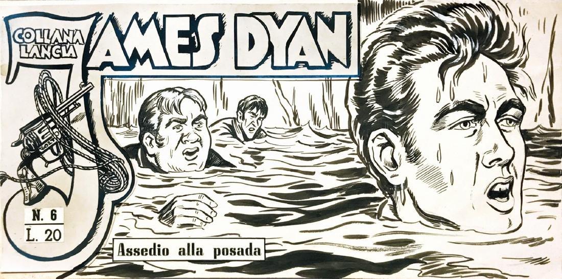 Edgardo Dell'Acqua James Dyan: Assedio alla posada