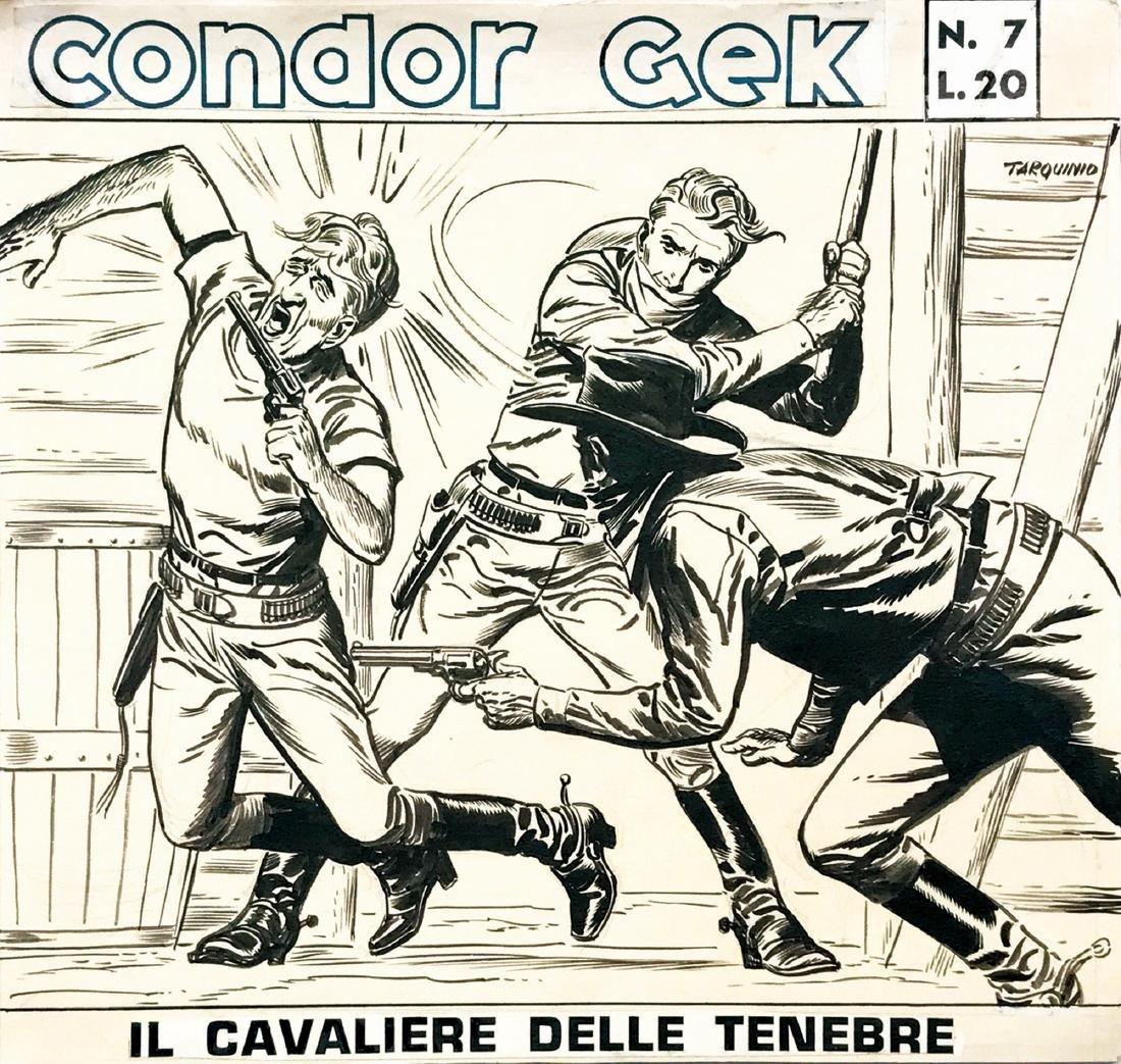 Sergio Tarquinio Condor Gek: Il cavaliere delle