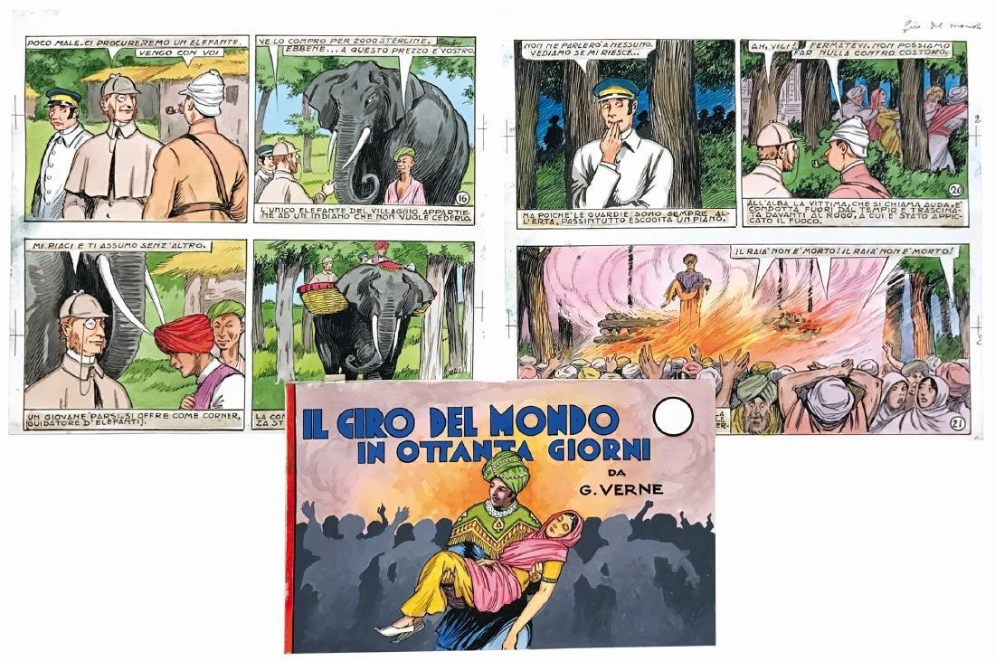 Domenico Natoli Il Giro del Mondo in ottanta giorni da