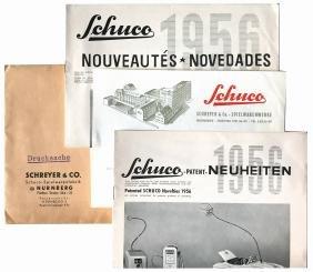 Catalogo Schuco Nouveautés 1956