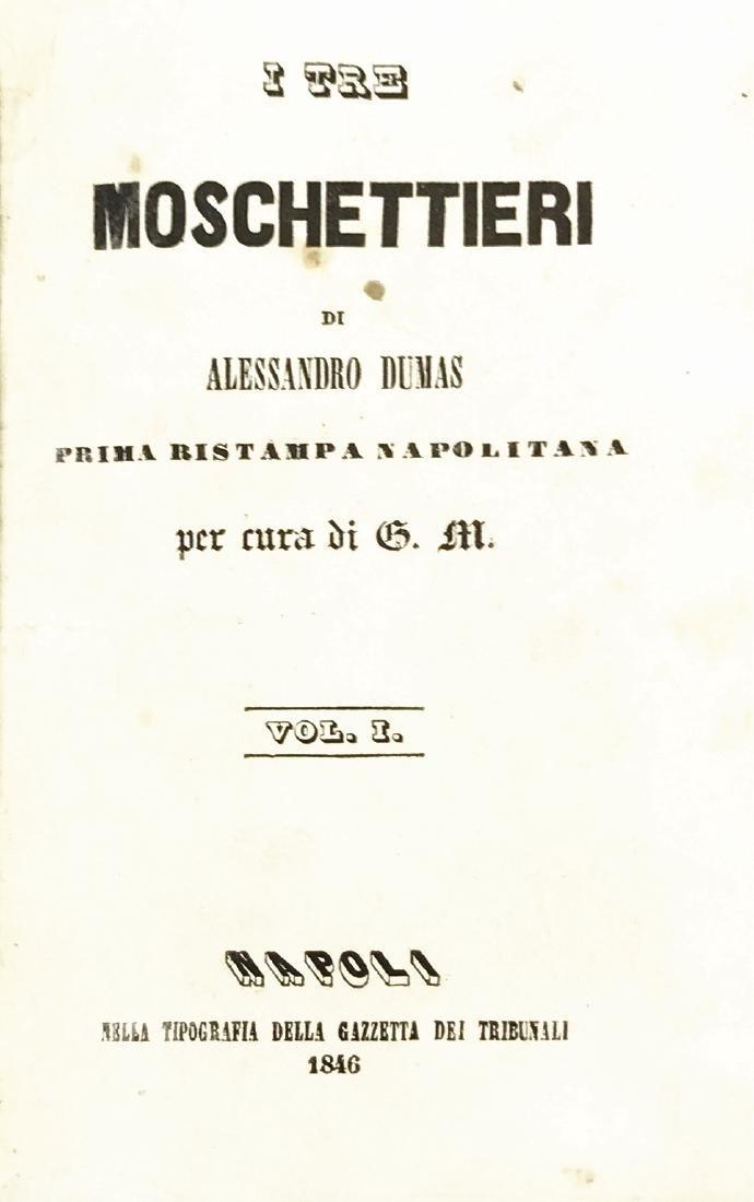 ALESSANDRO DUMAS (sic) I Tre Moschettieri