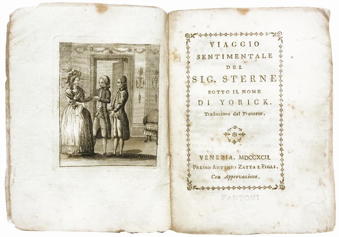 LAURENCE STERN Viaggio Sentimentale del Sig. Stern