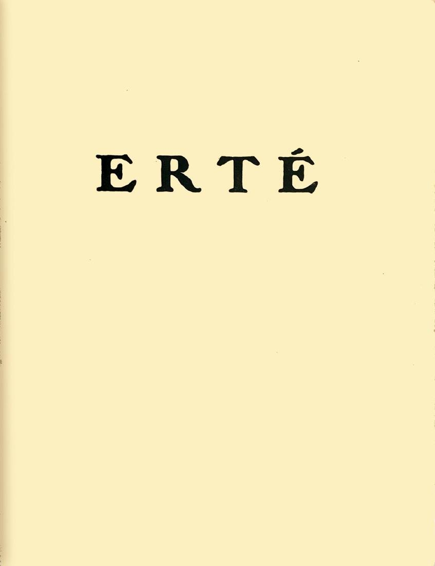 ERTÉ (Romain de Tirtoff) Erté: Exposition de ses
