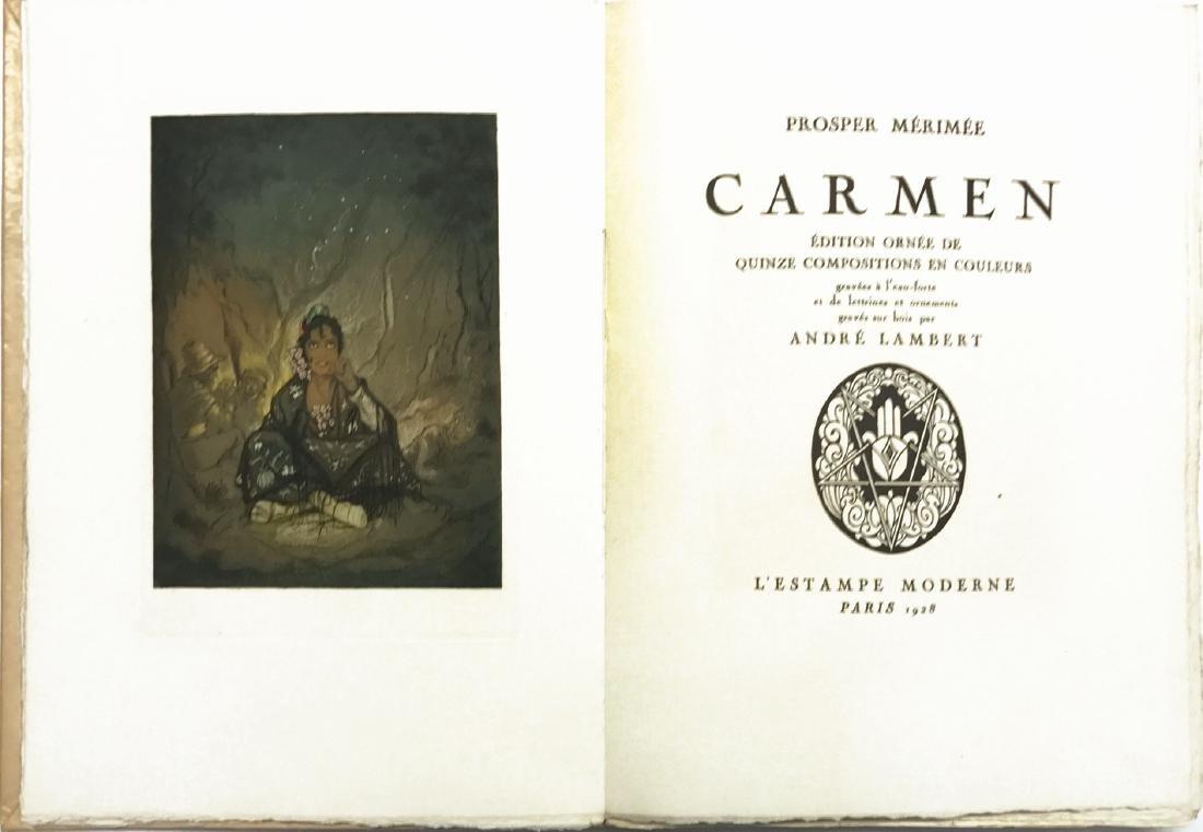 ANDRÈ LAMBERT Prosper Mérimée. Carmen