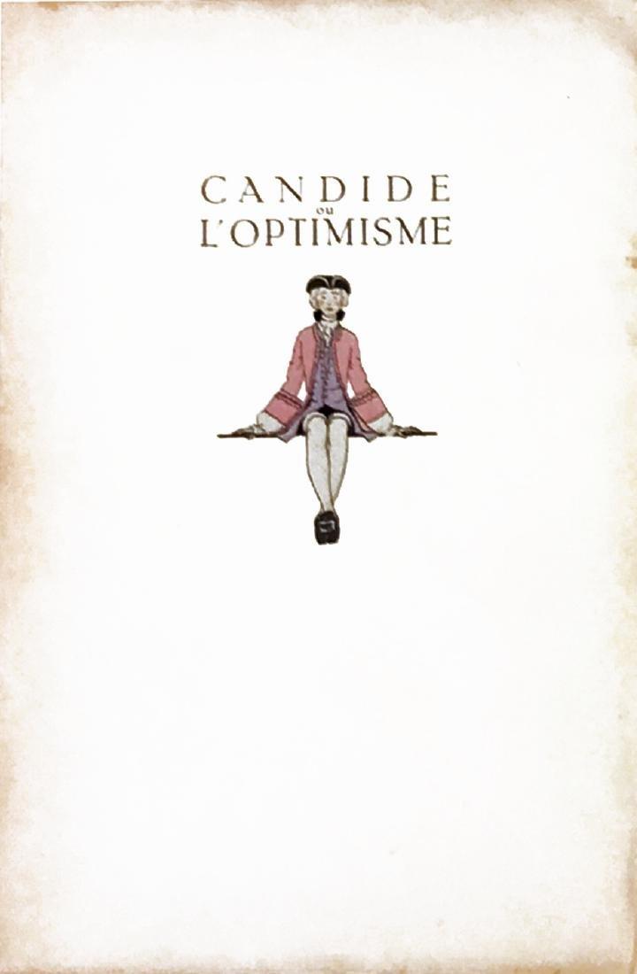 ANDRE' EDOUARD MARTY Voltaire Candide ou l'Optimisme