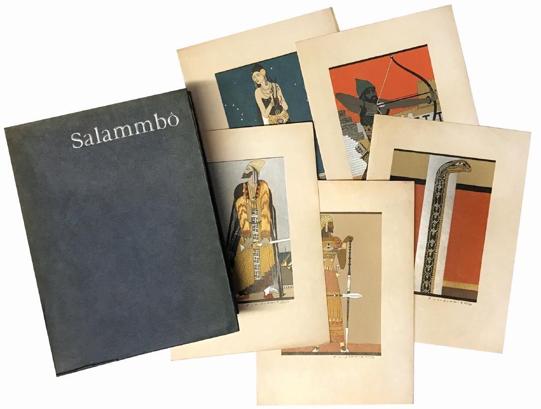 FRANÇOIS-LOUIS SCHMIED Gustave Flaubert Salammbo