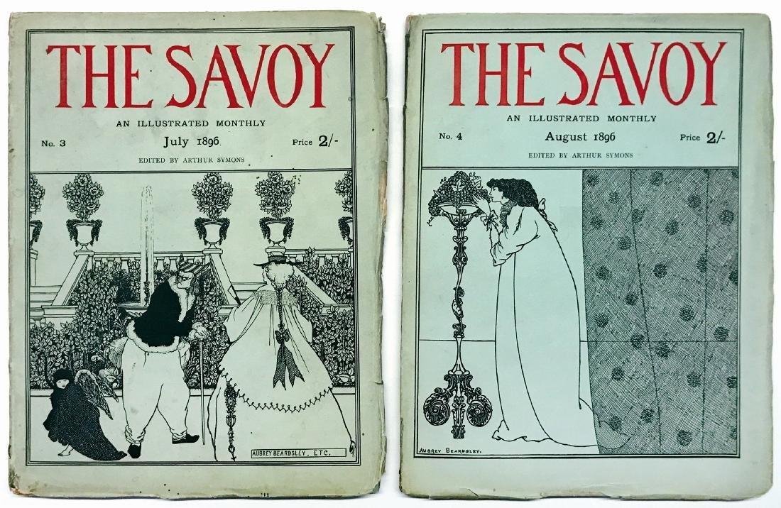 AUBREY BEARDSLEY  The Savoy. An illustrated quarterly.