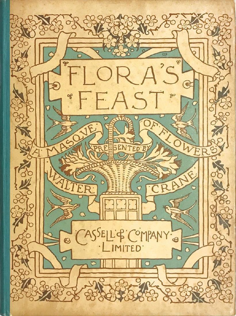 WALTER CRANE WALTER CRANE Flora's Feast. A Masque of