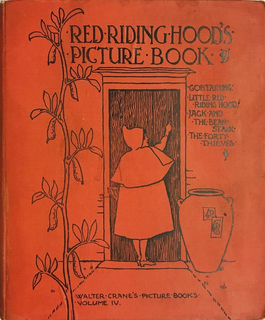 WALTER CRANE  Red Riding Hood's Picture Book