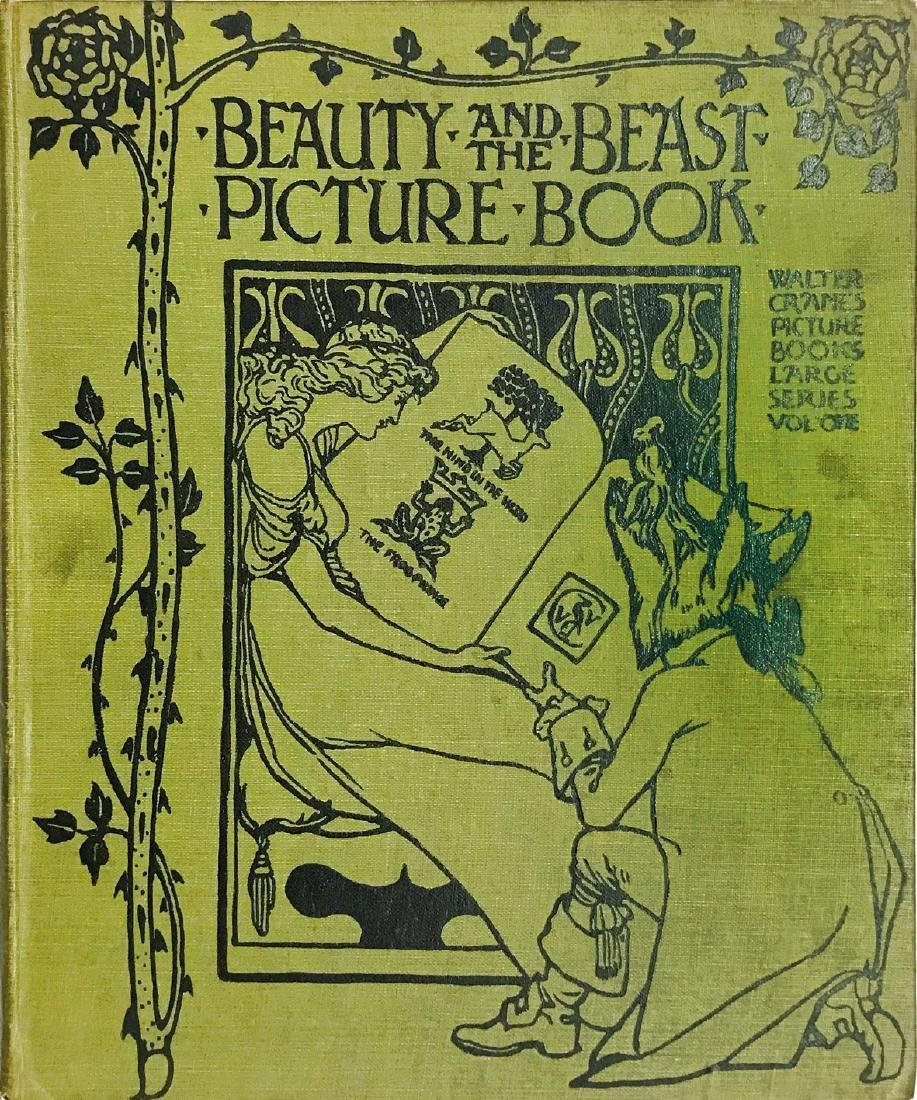 WALTER CRANE Beauty and the Beast