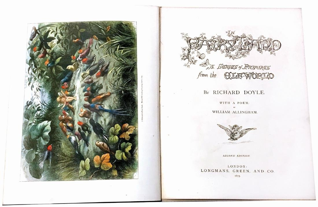 RICHARD DOYLE  In Fairy-Land. A Series of Pictures from