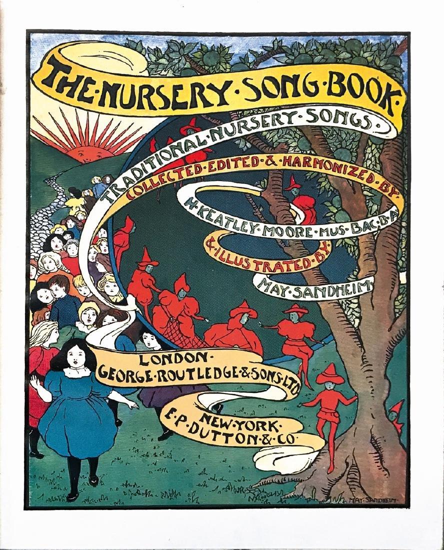 MAY SANDHEIM  The Nursery Song Book