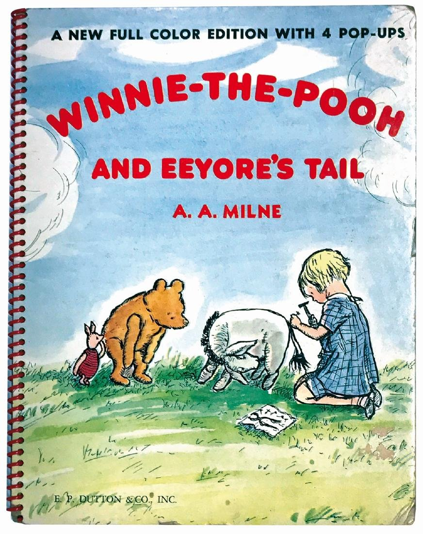 ERNST H. SHEPARD  Winnie the Pooh and Eeyore's tail. A