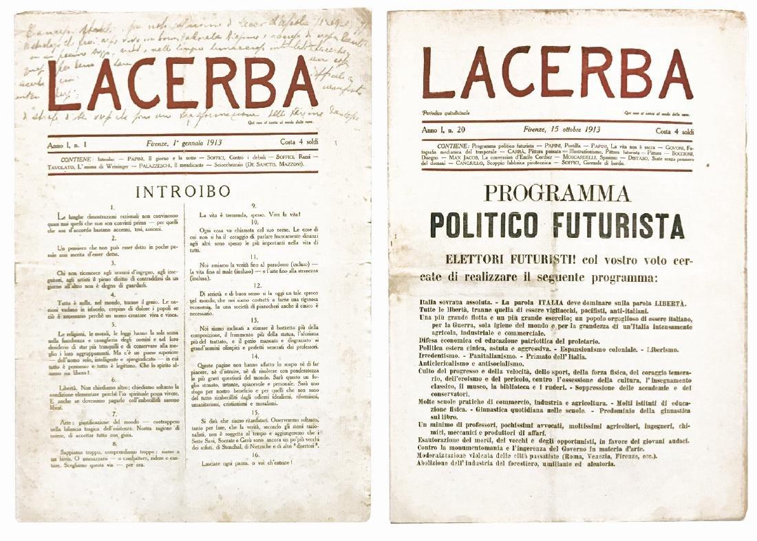 Lacerba coll. completa n.1/69 - 2