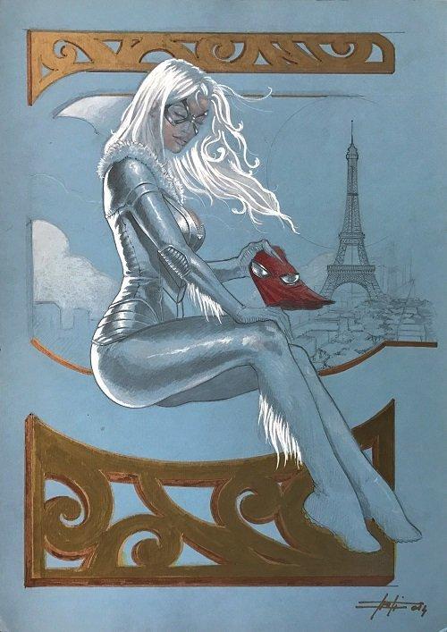 LUCA STRATI  -  Black Cat - When in Paris
