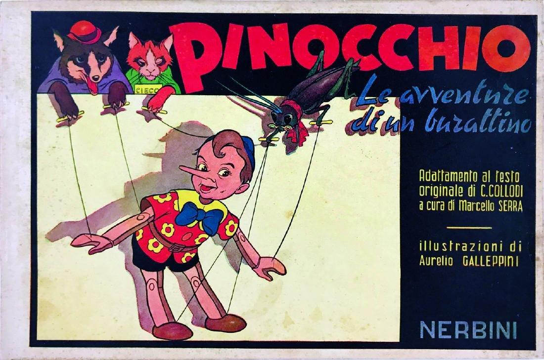 AURELIO GALLEPPINI  -  Pinocchio Le Avventure di un