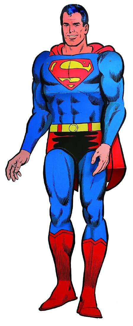 Superman Sagoma promozionale