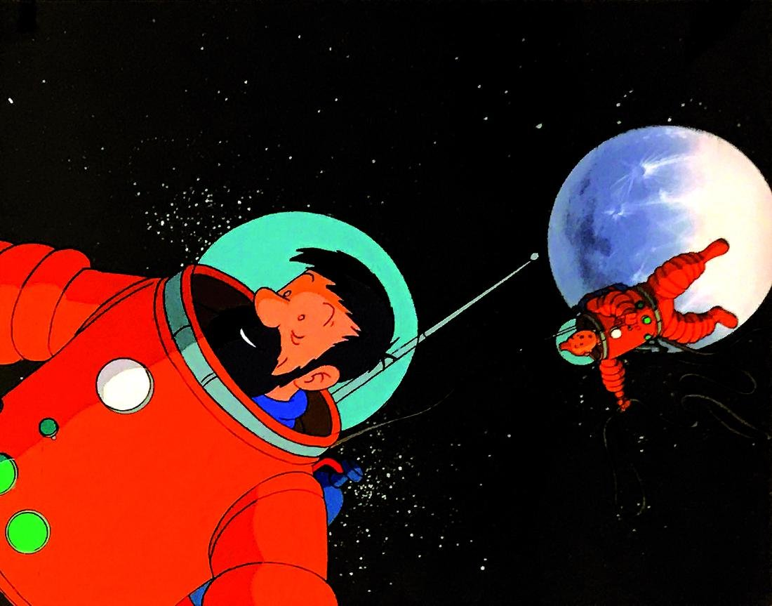 HERGE'  -  Tin Tin On a marché sur la Lune