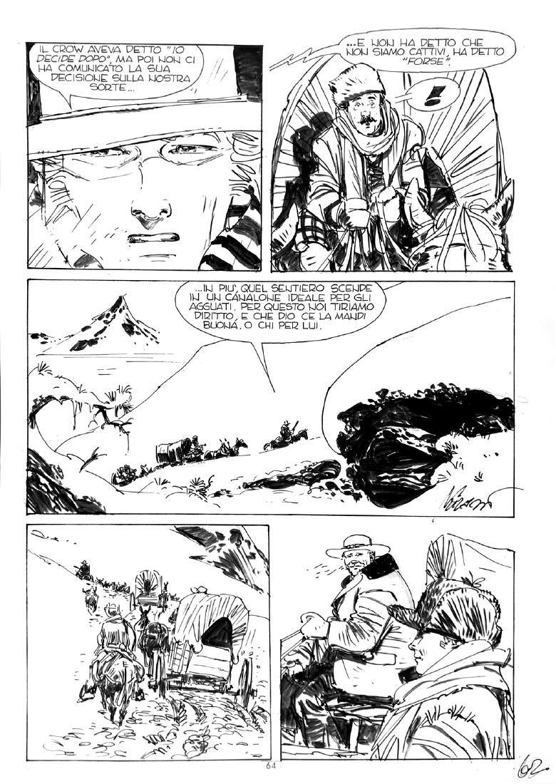 IVO MILAZZO  -  Ken Parker: Il Sentiero dei Giganti