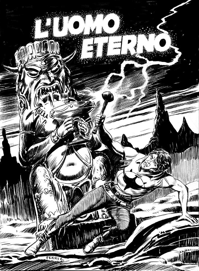 GALLIENO FERRI  -  Zagor: L'Uomo Eterno