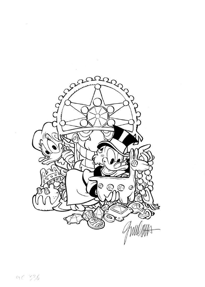 GIORGIO CAVAZZANO  -  I Grandi Classici Disney