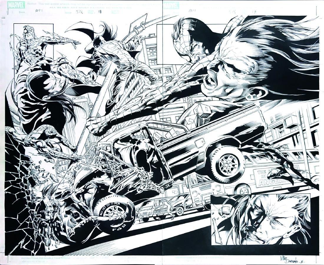 MIKE DEODATO JR.  -  Spiderman vs Morlun