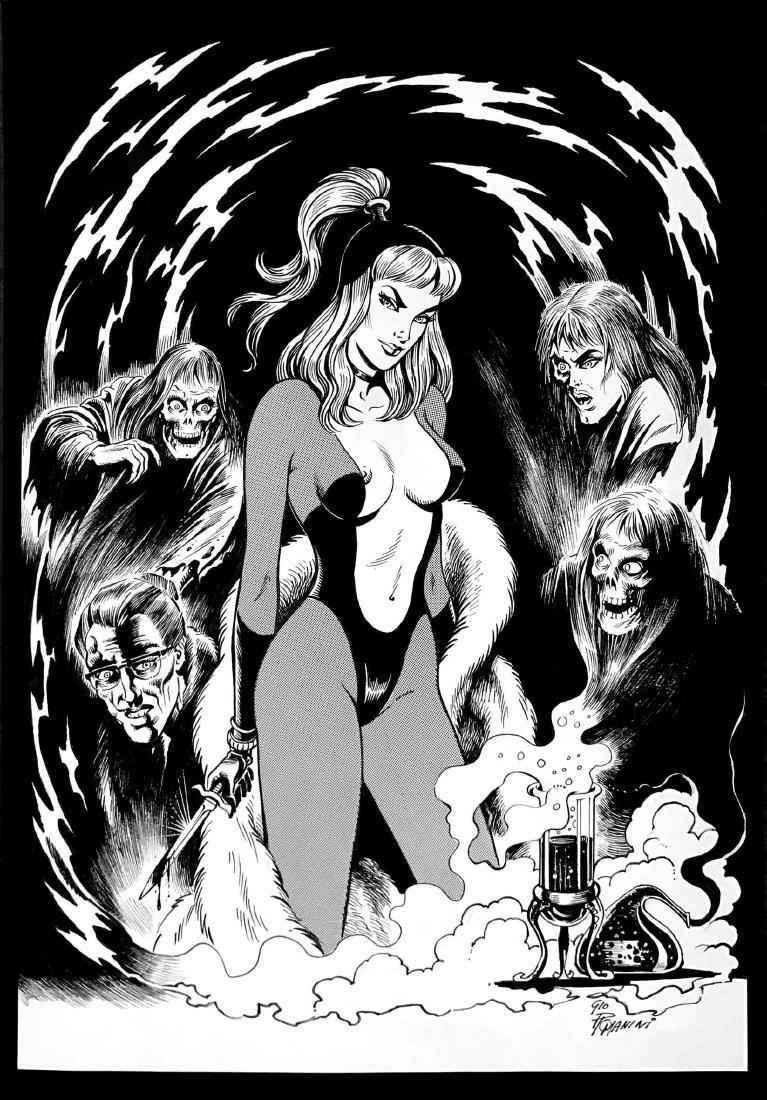 GIOVANNI ROMANINI  -  Marnie Bannister alias Satanik
