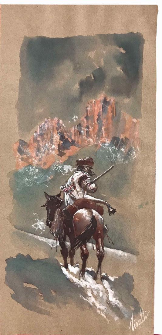 SERGIO TISSELLI  -  Il sentiero della montagna