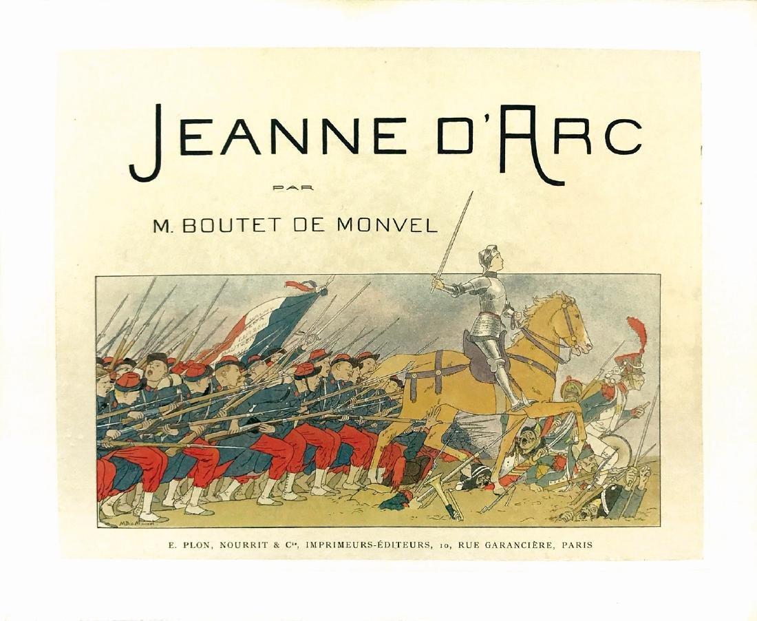 MAURICE BOUTET DE MONVEL  -  Jeanne d'Arc. De-luxe Ed.