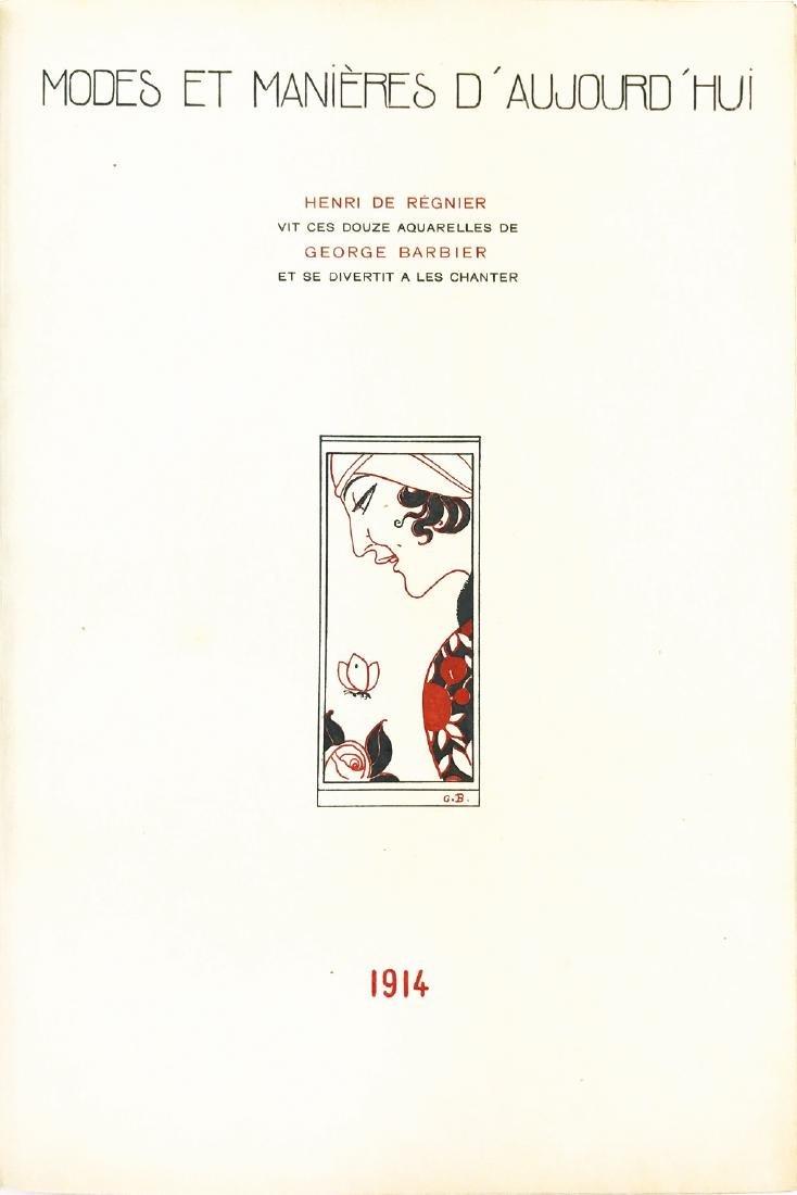 GEORGE BARBIER  -  Modes et Manières d'Aujourd'hui 1914