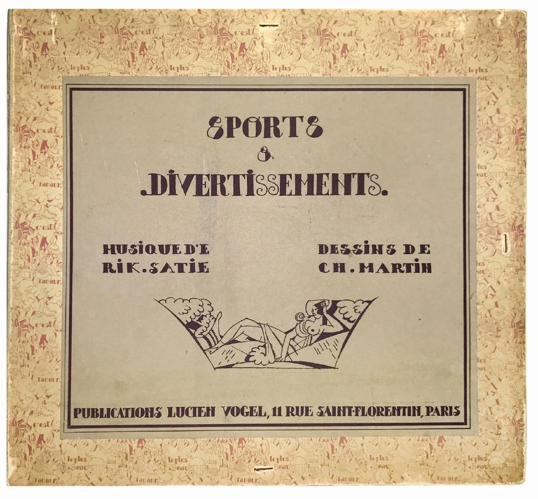 CHARLES MARTIN  -  Sports & Divertissement d'Erik Satie
