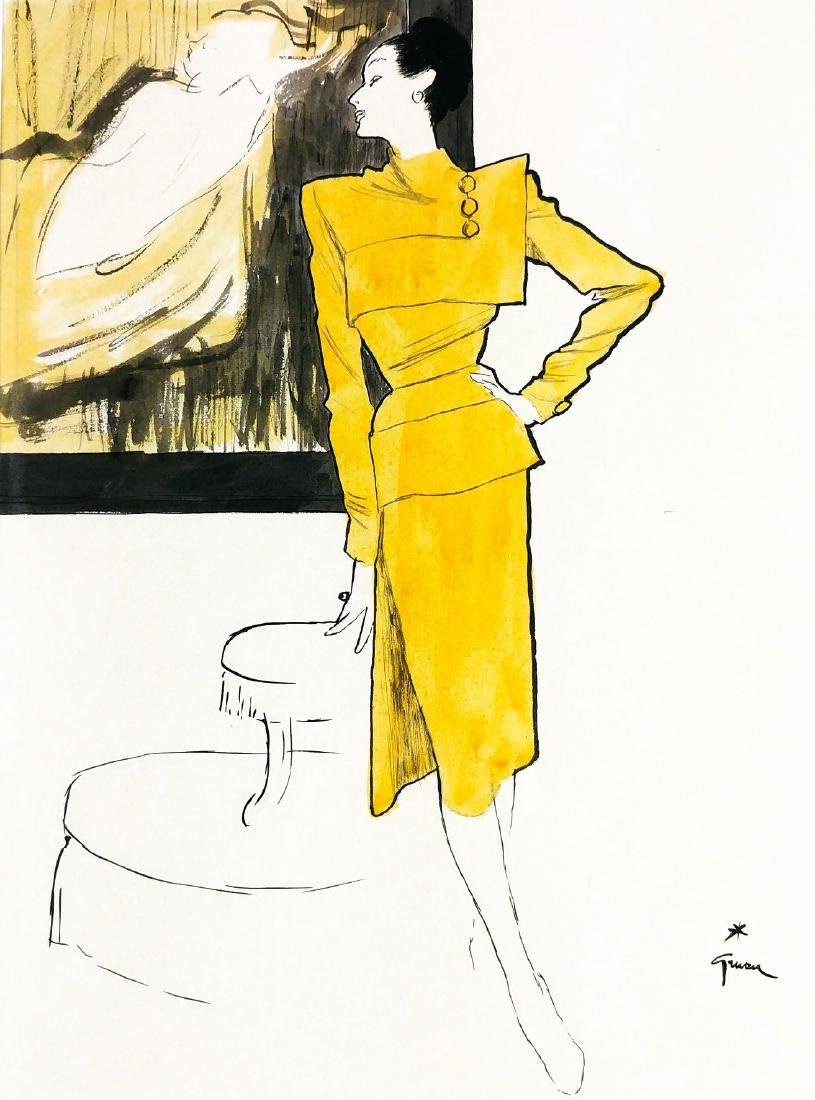 RENEÂ' GRUAU  -  Fashion art for Lanvin