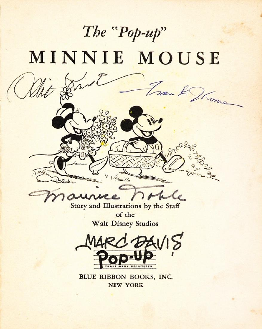 "Signed 1st ed. of The ""Pop-Up"" Minnie"