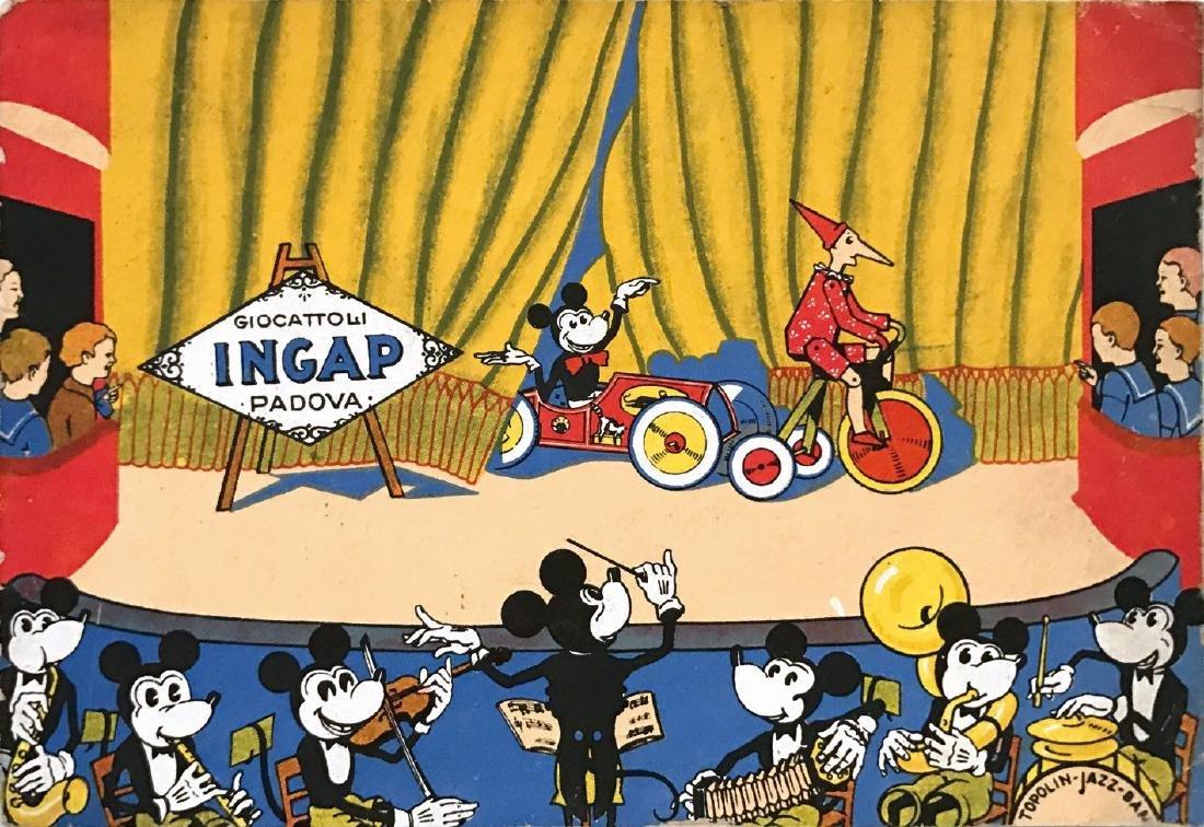 Giocattoli INGAP  -  Cartolina promozionale