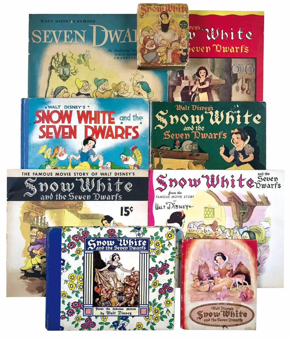 Disney's Snow White and The Seven Dwarfs a coll.