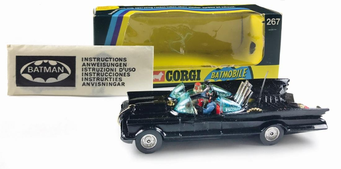 -  Rocket Firing Batmobile Corgi Toys & Corgi