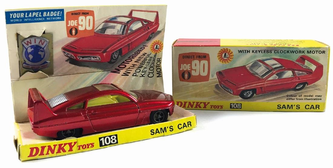 -  Sam's Car direct from Joe 90 & Dinky Toys n. 108,