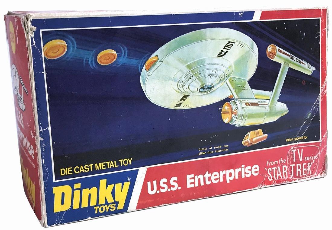 -  Star Trek U.S.S. Enterprise & Dinky Toys n. 358,